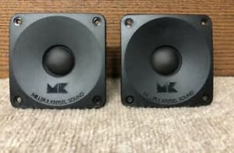Miller & Kreisel, M&K Z10 8 Ohm Tweeter (S-150 Speaker) super clean Miller & Kreisel, M&K