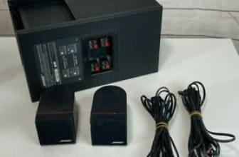 Bose Acoustimass 3 Series III Speaker System – SUBWOOFER & SPEAKERS Black Bose