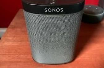 2 sonos play 1's Sonos
