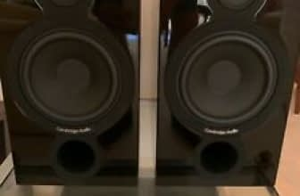 Cambridge Audio Aeromax 2 Bookshelf Speakers Black (Pair) Cambridge Audio