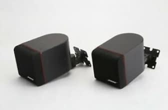 Pair Of Bose Redline Cube Speakers, Lifestyle Acoustimass Surround Sound Bose