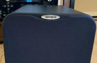 Velodyne MiniVee 8″ 2000W Compact Powered Subwoofer Velodyne