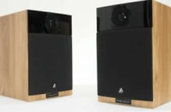 FYNE AUDIO F300 Light oak Speaker pair w/ Manual in Very Good Condition FYNE AUDIO